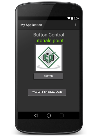 Android Button Control