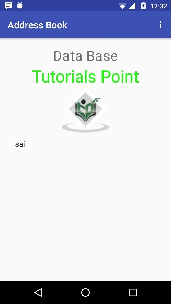 Android SQLite Tutorial