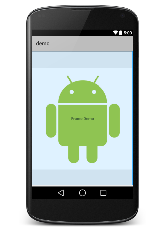 Android Frame Layout