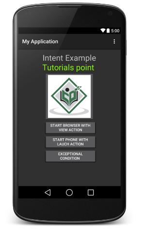 Android Custom Activity