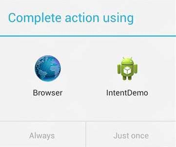 Android Two Activities