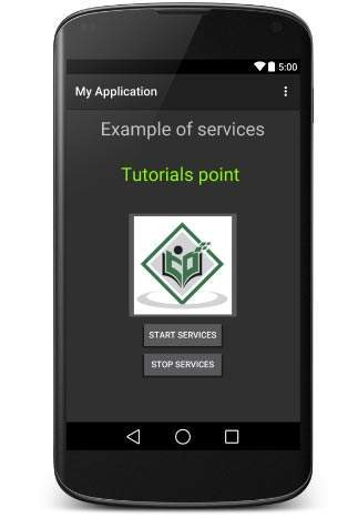 Android Service Demo