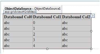 Object Data Source