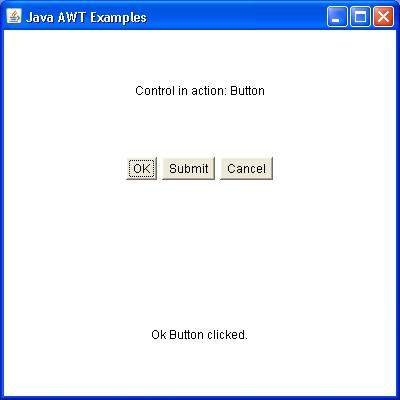 Easy Notes: AWT in JAVA using Java.awt.*; package