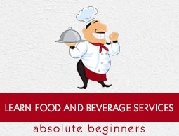 Food and Beverages Services Tutorial