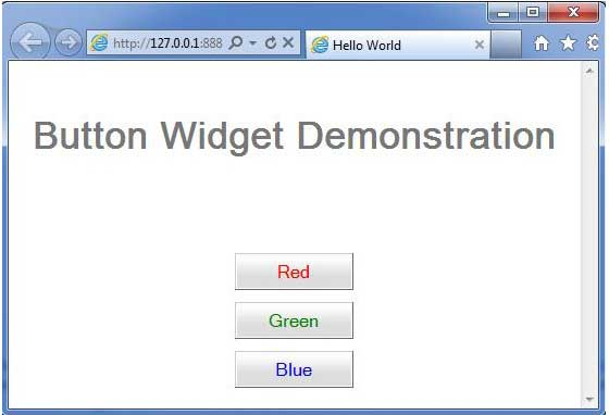 GWT Button Widget