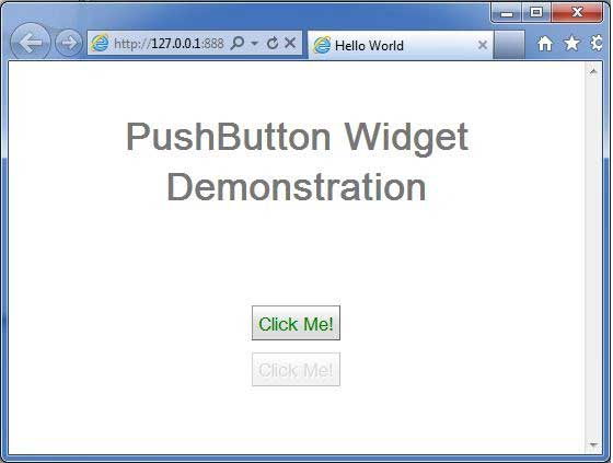GWT PushButton Widget