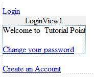 ChangePassword control