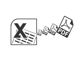 Convert Excel to PDF Files