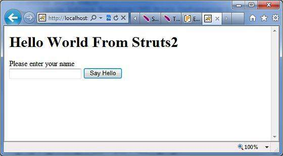 Hello World Input