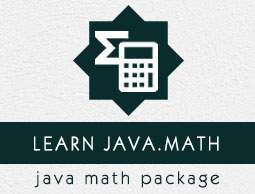 Java.math package tutorial