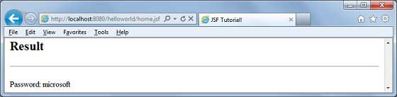 JSF f:validateRegex2