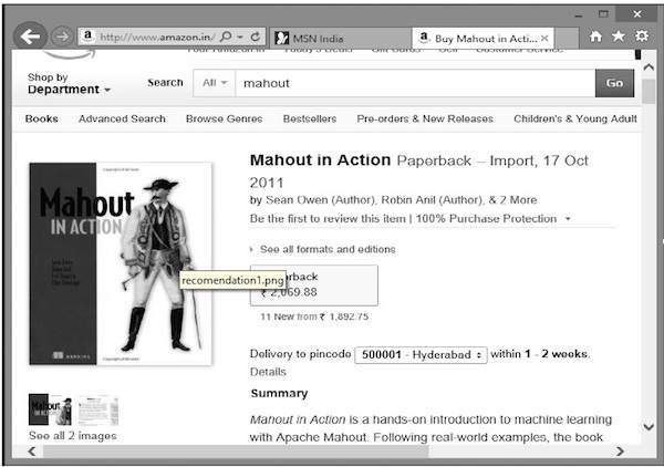 Mahout in Action