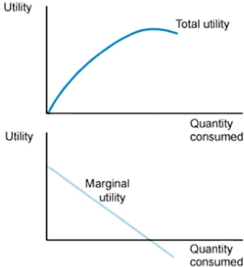 the utility concept in economics Definition and explanation of total utility and marginal utility in economics.