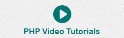 PHP Video Tutorials