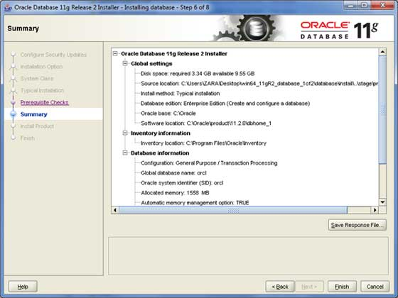 Oracle Install 6