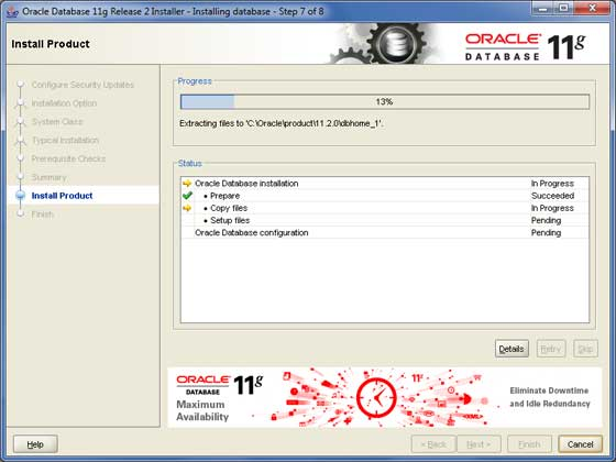 Oracle Install 7