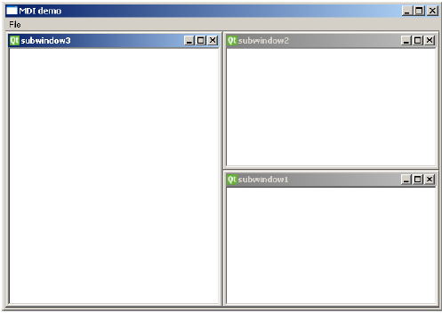 Multiple Document Interface Output3