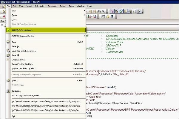hp alm tool tutorial pdf