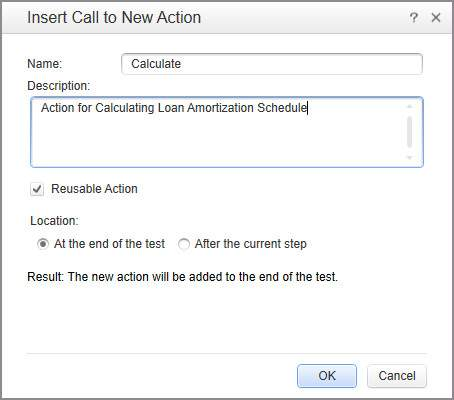 Inserting Call to New Action Step 2
