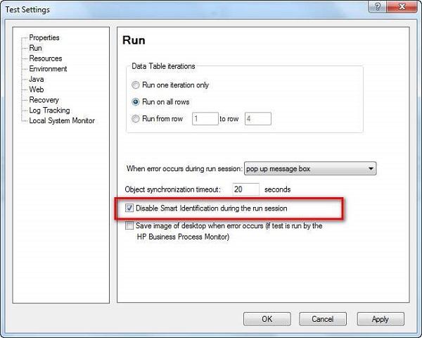 Smart Identification Configuration
