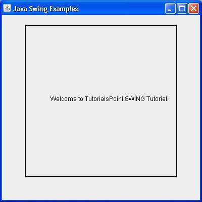 SWING JWindow