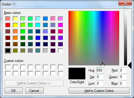 VB.Net Color Dialog