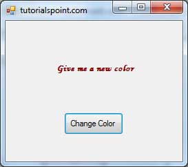 VB.Net Color Dialog Result