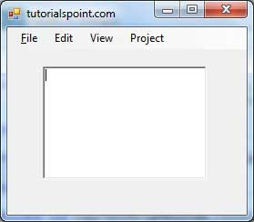 Context Menu Strip Example