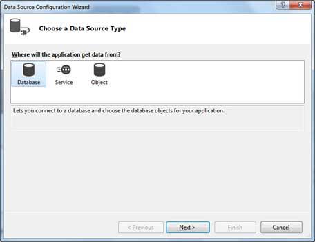 الاتصال بقواعد بيانات SQL Server وعرض البيانات فى DataGridView بدون كود Vb.net_database6