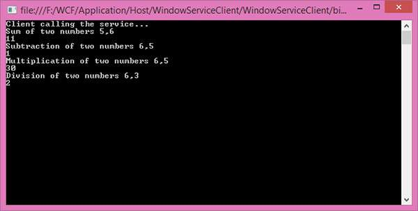 Wcf Consuming Services Windows Service 3