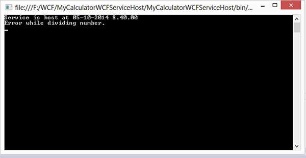Wcf Exception Handling 7