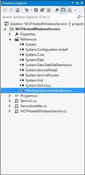 Wcf Hosting Services Windows Service 4
