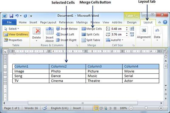 how to write in two columns in word mac