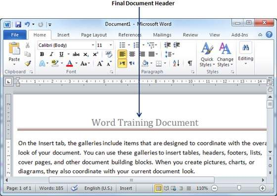 how to add header and footer in pdf