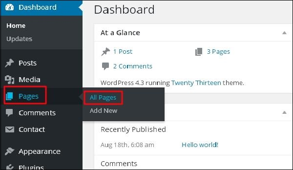 WordPress Add Comments