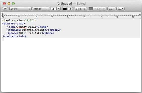 View XML In Notepad