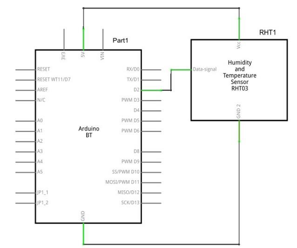 Humidity Sensor Circuit Connection