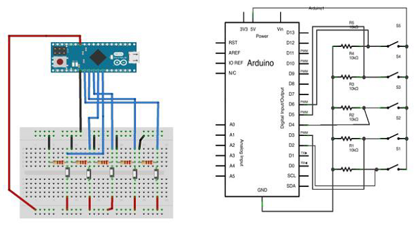 Mouse Button Breadboard