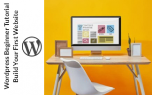 Wordpress Beginner Tutorial: Build Your First Website Image