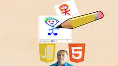 Learn HTML5 Canvas Drawing with JavaScript in 1 hour Image