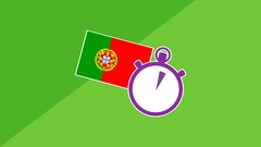 3 Minute Portuguese - Course 1 | Lessons for beginners Image