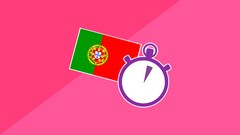 3 Minute Portuguese - Course 2 | Lessons for Beginners Image