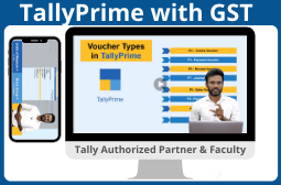TallyPrime with GST I Tally Authorized Partner & Faculty Image