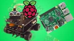 Obstacle Avoiding Robot with Raspberry Pi Image