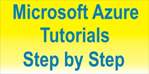 Microsoft Azure Tutorials Step by Step Image