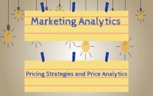 Marketing Analytics: Pricing Strategies and Price Analytics Image