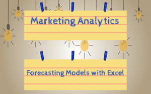 Marketing Analytics: Forecasting Models with Excel Image