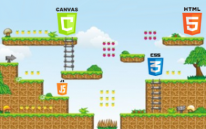 2D Game Development With HTML5 Canvas, JS - Tic Tac Toe Game Image