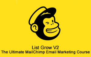List Grow v2: The Ultimate MailChimp Email Marketing Course Image